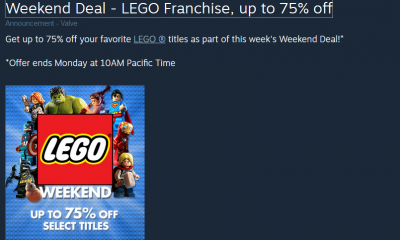 Steam Lego Weekend Sale - #GTUSA 1