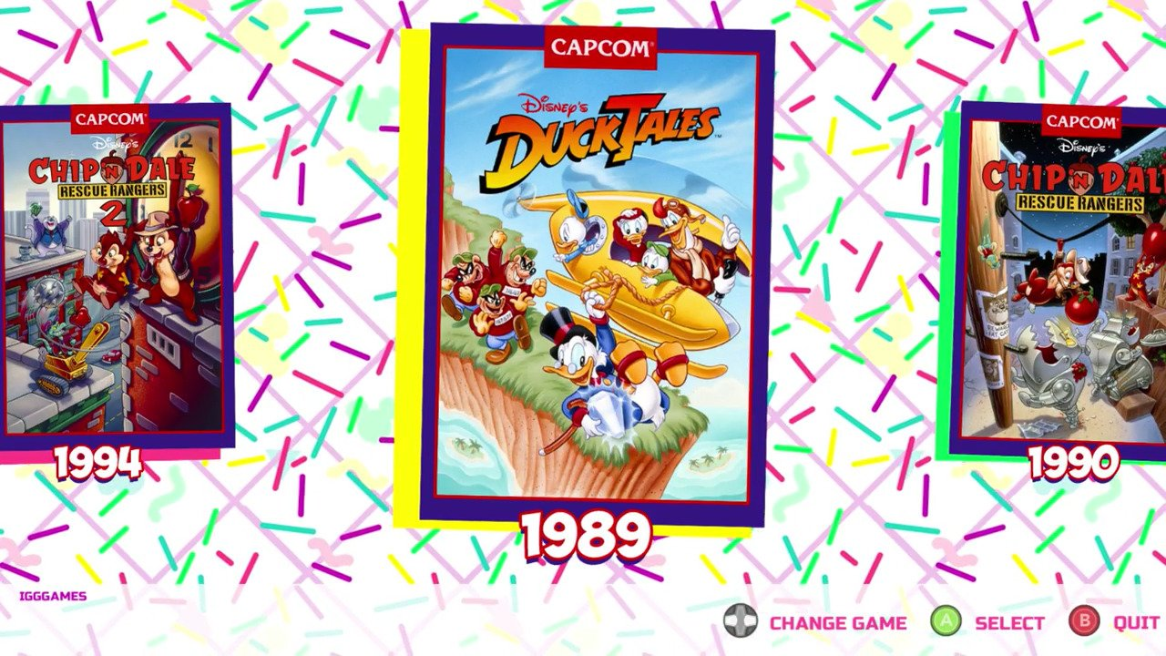 The Disney Afternoon Collection - #GTUSA 2