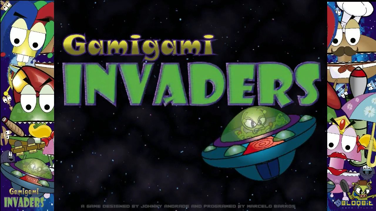 Gamigami Invaders - #GTUSA 2
