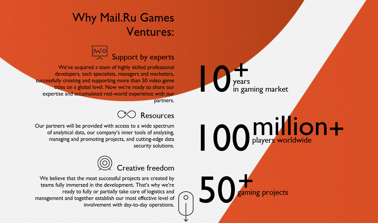 Mail.Ru Announces up to $100 Million for Investment - #GTUSA 3