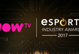 Now TV Renew's Partnership & Is Naming Partnership Of The 2017 eSports Industry Awards