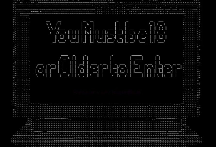 """You Must Be 18 Or Older To Enter"" – A Game About Early 90s Dial Up Porn"