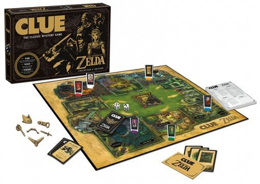 Zelda Clue Board Game - #GTUSA 4