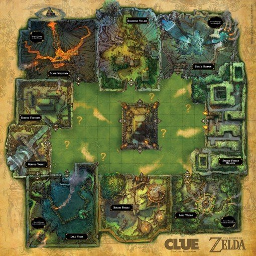 Zelda Clue Board Game - #GTUSA 3