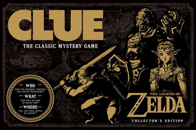 Zelda Clue Board Game - #GTUSA 1