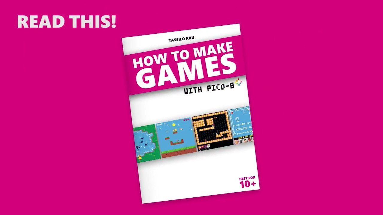 HOW TO MAKE GAMES with PICO-8 Book - #GTUSA 1