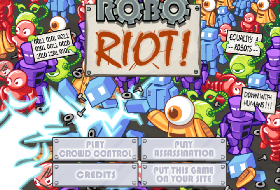 Robo Riot – Free To Play Browser Game