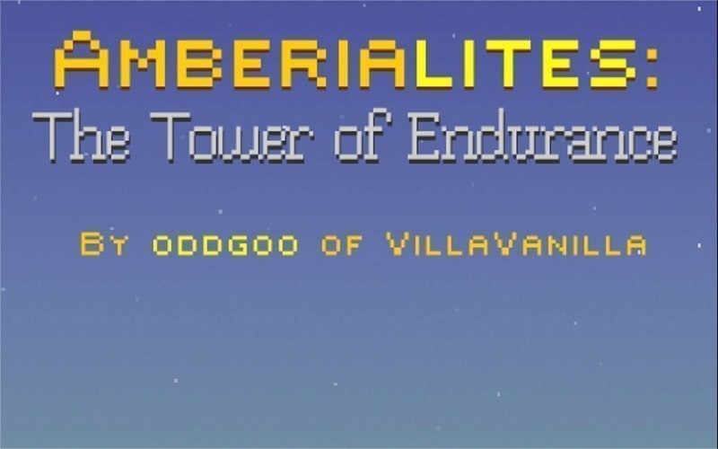 Amberialites: The Tower of Endurance - #GTUSA 1