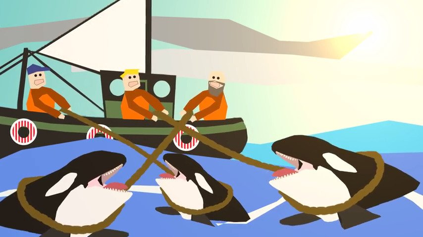 Studios and streamers unite to help save orcas - #GTUSA 1