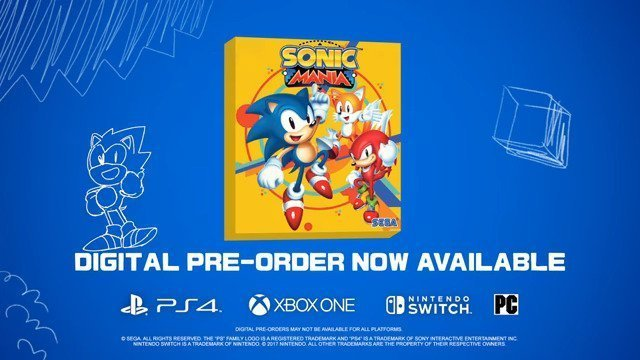 Sonic Mania Speeds Onto Multi Platforms August 15th! - #GTUSA 1