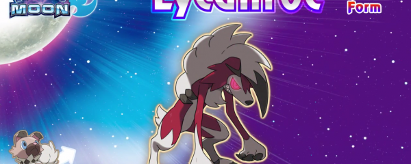 Free Battle-Ready Lycanroc In Midnight Form For Your Nintendo 3DS