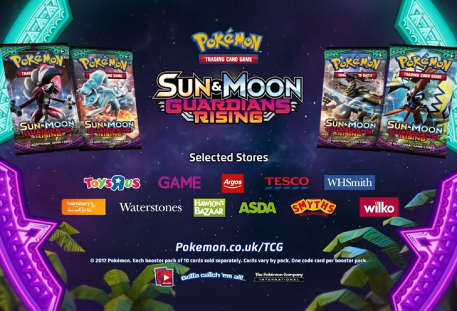 """Pokémon: Sun & Moon – Guardians Rising"" Out Now"