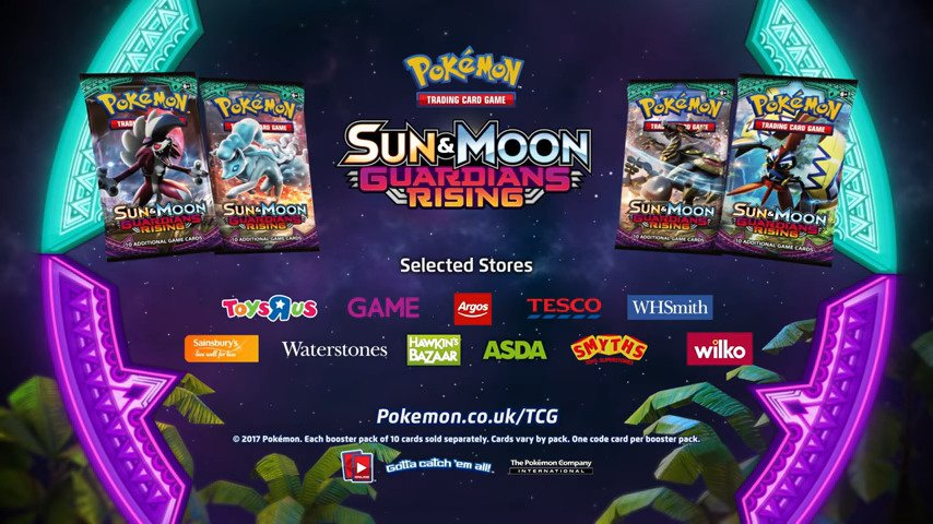 Pokémon: Sun & Moon - Guardians Rising - #GTUSA 1
