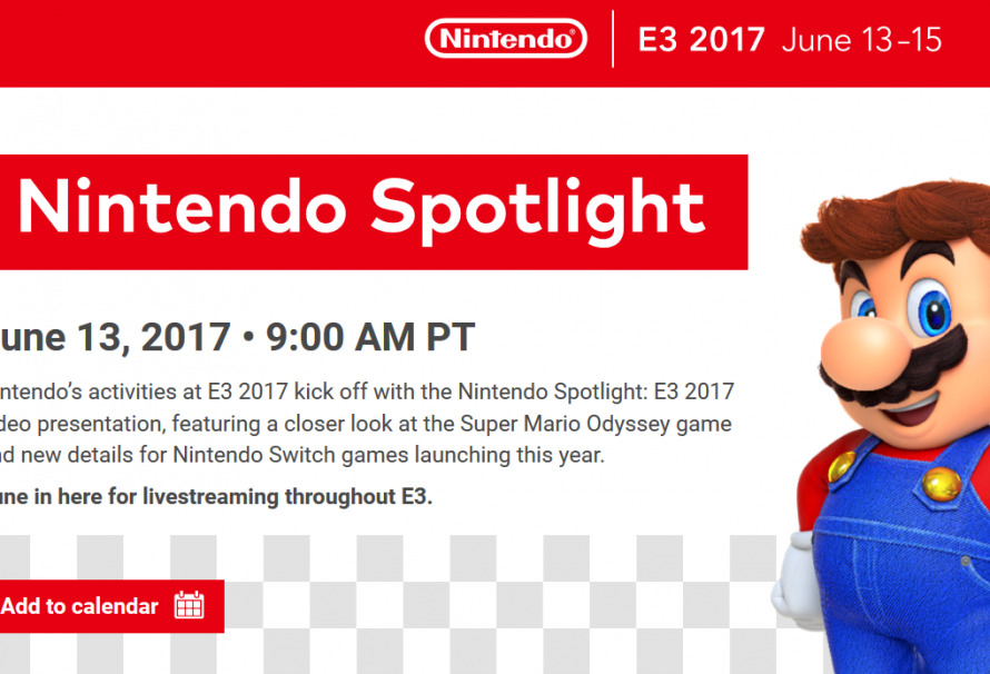 Mario Tournaments and Nintendo Switch Head to E3 2017