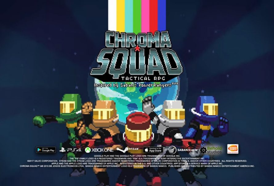 CHROMA SQUAD – Inspired By The Power Rangers – Out Now