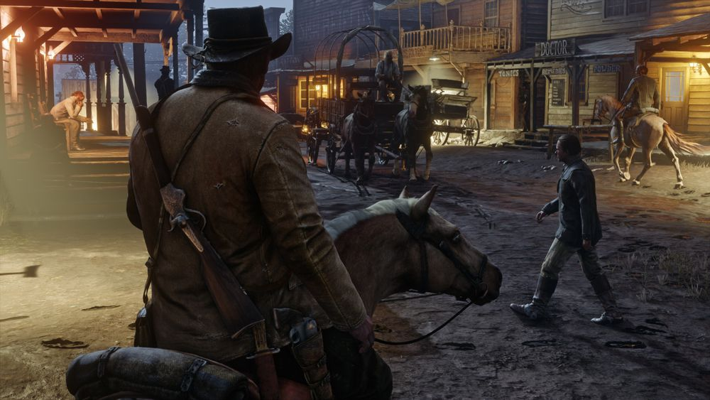 Red Dead Redemption 2 Sneak Peak - #GTUSA 4
