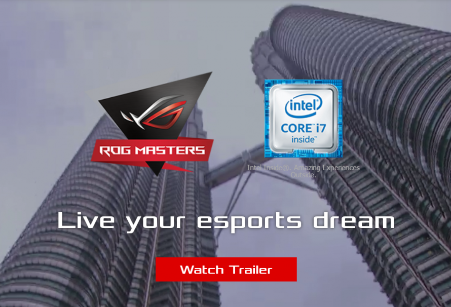 ASUS Tournament ROG Masters 2017 Emerges With $500,000 Prize Pool