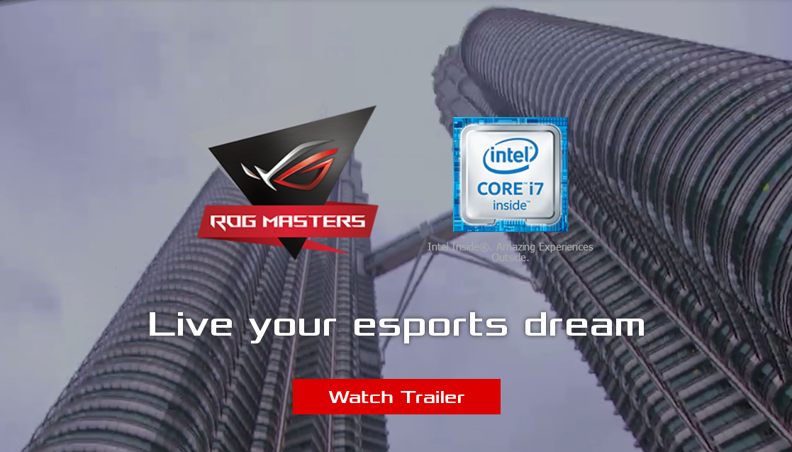ASUS Tournament ROG Masters 2017 - #GTUSA 1