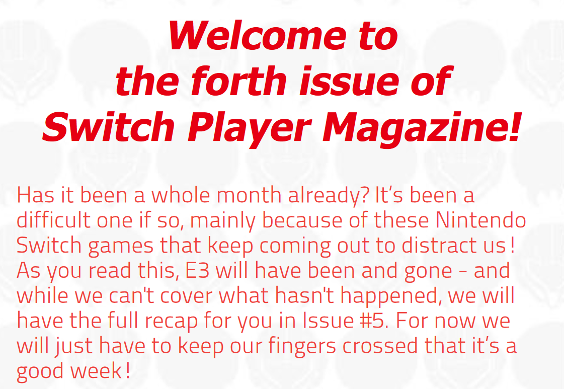 Switch Player Magazine Issue 4 Released - #GTUSA 2
