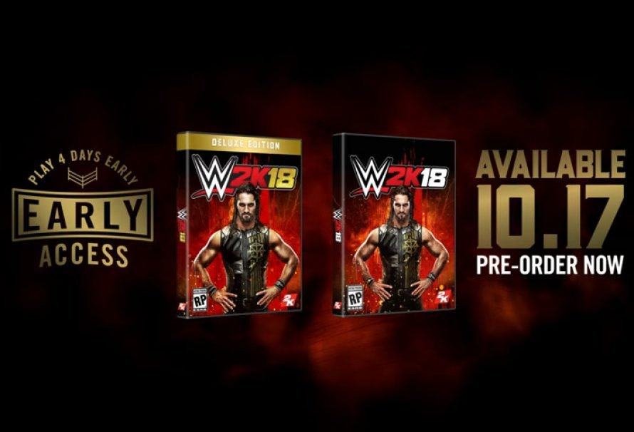 2K Announces Seth Rollins as the WWE® 2K18 Cover Superstar