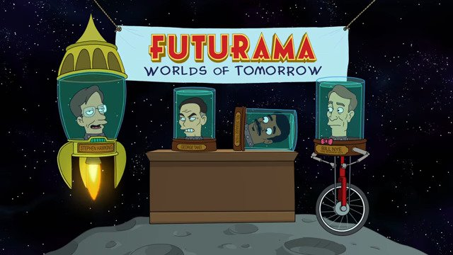 Futurama: Worlds Of Tomorrow - #GTUSA 1