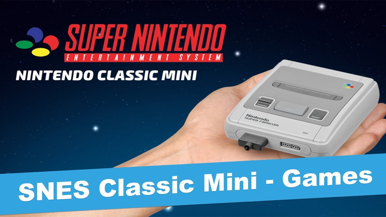 Nintendo Announces Super NES Classic Edition - #GTUSA 2