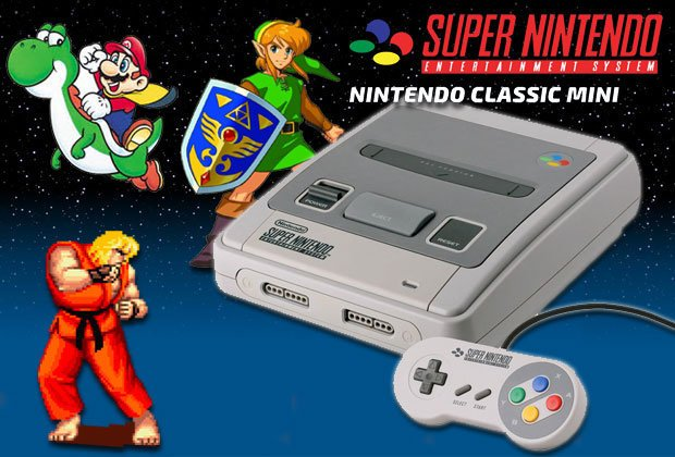 Nintendo Announces Super NES Classic Edition - #GTUSA 3