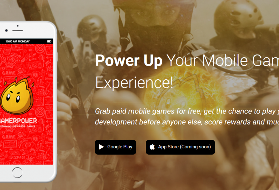 GamerPower brings YOU Free Mobile Gaming Goodies With New App