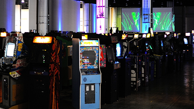 SAAM Arcade To Feature 40 Independent Games - #GTUSA 1