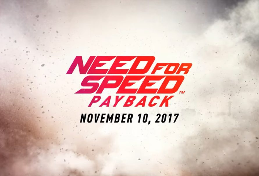 Need For Speed Payback Coming Nov 10, 2017