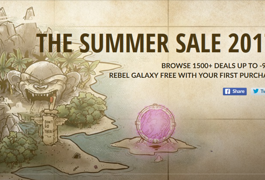 Set Off for the Adventurous Summer Sale on GOG.com