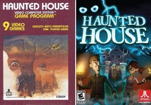 Rookery's Retro Review: Haunted House (Atari 2600) - #GTUSA 5