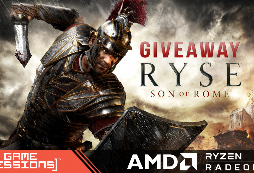 GameSessions Giveaways Launches with RYSE: Son of Rome