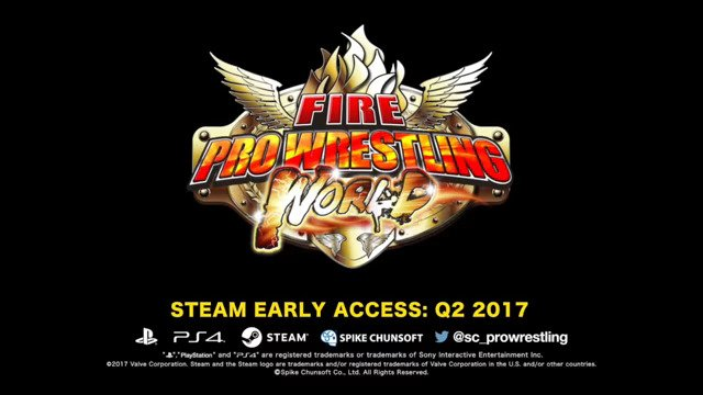 Fire Pro Wrestling World Available Now on Steam Early Access - #GTUSA 2