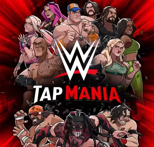 WWE® TAP MANIA NOW AVAILABLE ON MOBILE DEVICES - #GTUSA 1