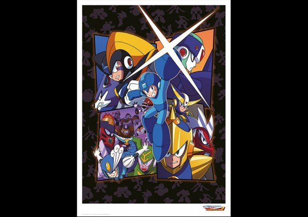 Limited Edition Mega Man Art Print - #GTUSA 2