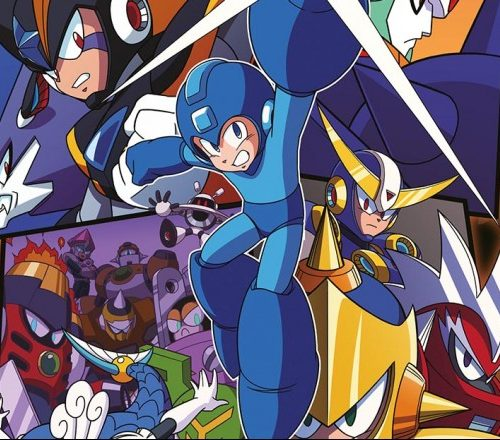 Limited Edition Mega Man Art Print - #GTUSA 1
