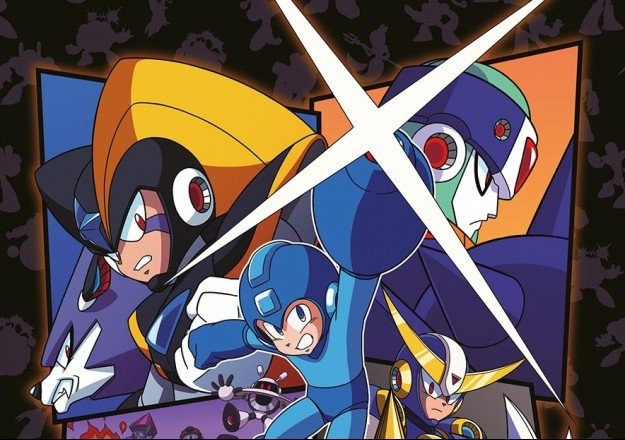 Limited Edition Mega Man Art Print - #GTUSA 3