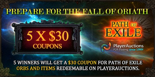 Path of Exile 3.0 Builds, Trading, and Free Giveaway - 1