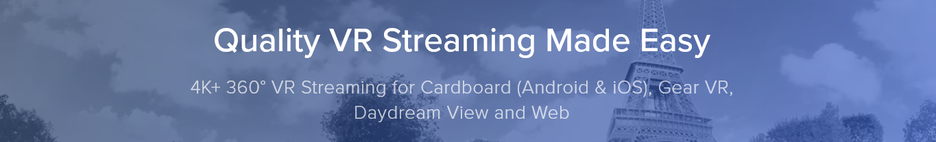 Visbit Releases Unity SDK & Web VR Player for its All-in-One VR Streaming Service - #GTUSA 4