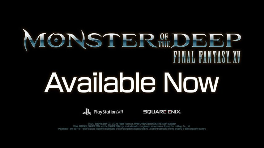 Get Hooked on Monster of the Deep: Final Fantasy XV - #GTUSA 2