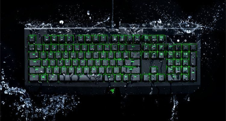 The Razer Blackwidow Ultimate Is Element Resistant - #GTUSA 1