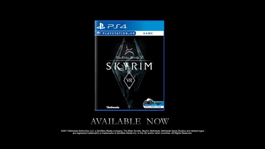 The Elder Scrolls V: Skyrim Comes To PS VR & Switch - #GTUSA 2