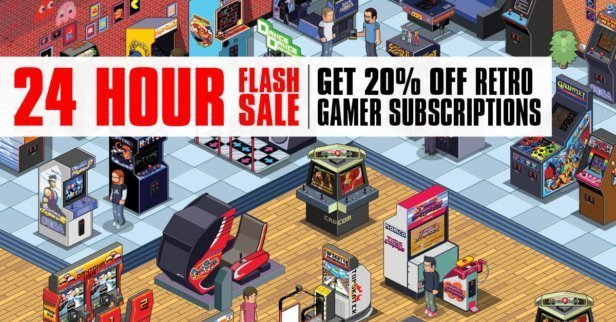 Pay £2.57 for an issue of Retro Gamer with this amazing offer