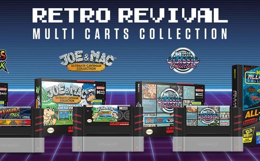 Retro-Bit Multi-Carts On Sale This Weekend
