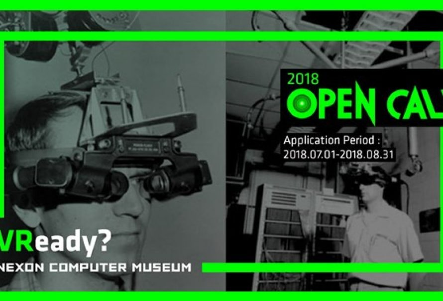 Nexon Computer Museum holding 3rd  VR Open Contest