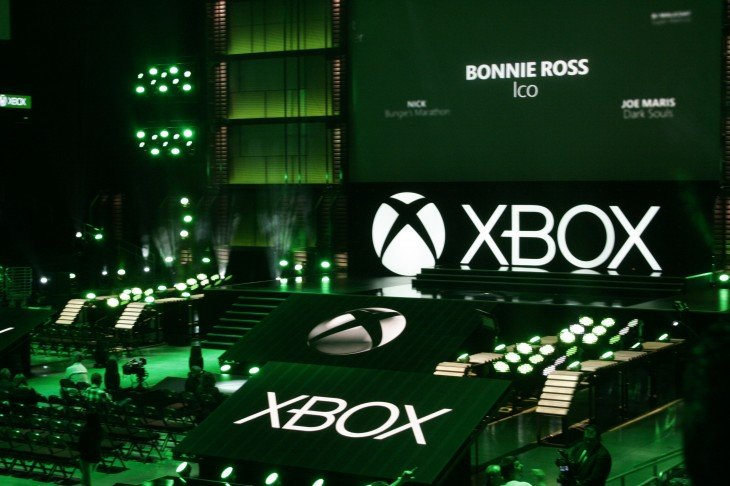 Live photo of xbox stage E3 2017