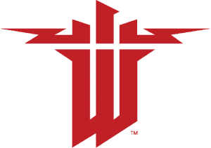 Wolfenstein Logo, owned by Machine Studios.