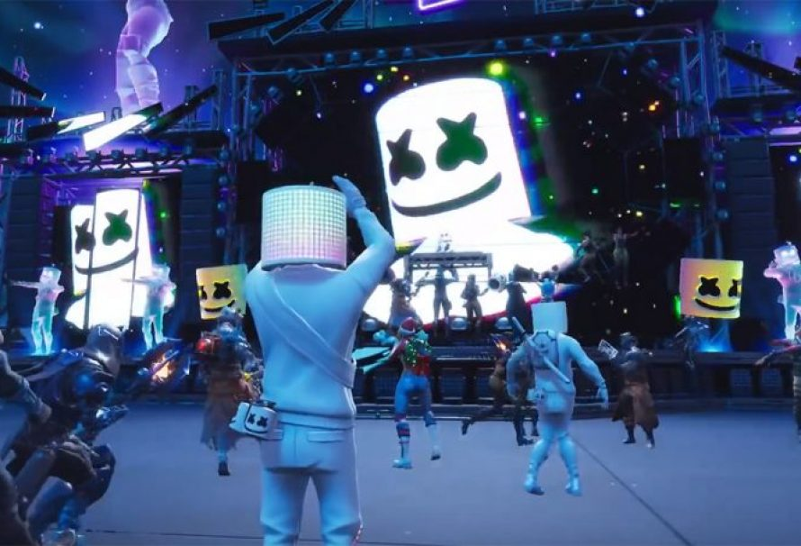 Fortnite Organized a Live Marshmello Concert!