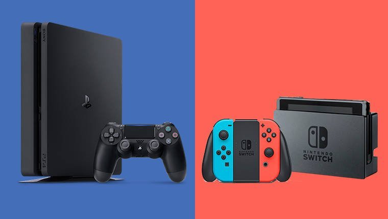 PS4 and Nintendo Switch Competition